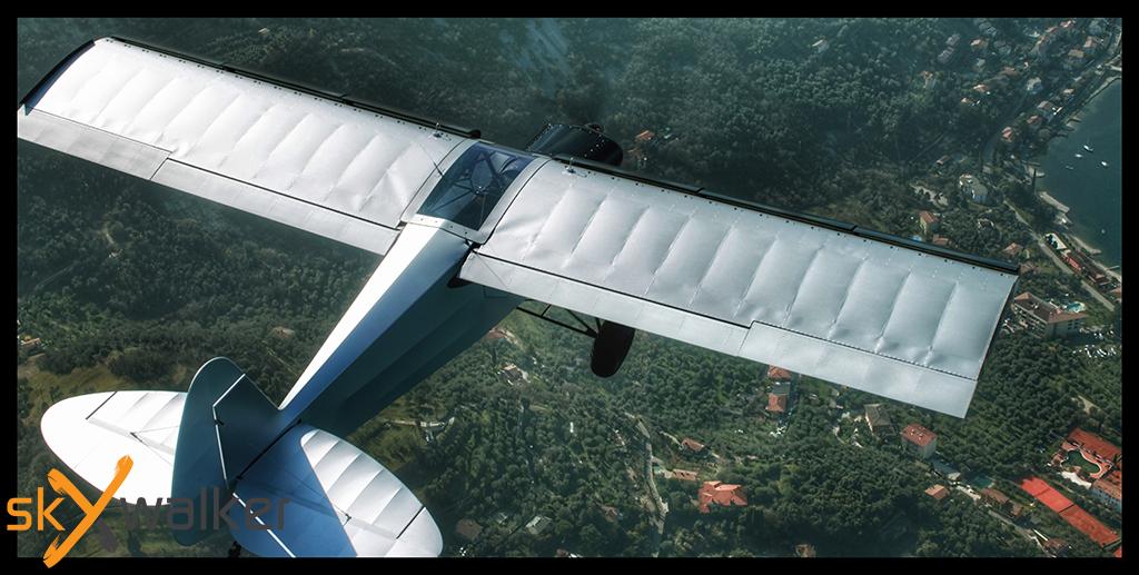 Aerial camera work